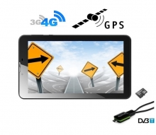 5в1 4G таблет GPS навигация с Android DIVA 7″, SIM, Quad Core, 16GB, ТВ