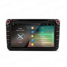 Навигация двоен дин за VW, Seat, Skoda PCD86MTVA, ANDROID 6.0, GPS, DVD, 8 инча