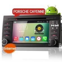 Навигация двоен дин за Porshe  Cayenne 2003-2010 ES4014C Android, DVD, GPS, 7 инча