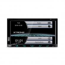 Универсален двоен дин TD698G с GPS, DVD, Bluetooth, 6.95 инча