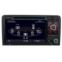 Мултимедия двоен дин за Audi A3 S3 с RS3 N A301O , GPS, DVD, WinCe, 7 инча