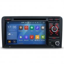 Мултимедия двоен дин за Audi A3 S3 и RS3 с Android N A302А , GPS, DVD, WiFi, 7 инча