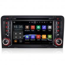 Мултимедия двоен дин за Audi A3 S3 и RS3 с Android N A304А, GPS, DVD, WiFi, 7 инча