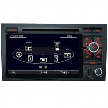 Мултимедия двоен дин за Audi A4 S4 с WinCE N A401O, GPS, DVD, 7 инча