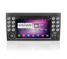 Мултимедия двоен дин за Mercedes SLK W171 M096G GPS, DVD, Android, 7 инча