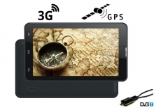 5в1 3G GPS навигация с Android Turbo-X Calltab 7 инча, SIM, 16GB, DVR, ТЕЛЕВИЗИЯ