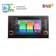 Навигация двоен дин с Android 6.0 за AUDI A4 PB76AA4AP, 7 инча