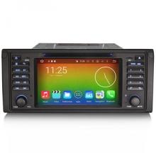 Навигация двоен дин за BMW E39 E53 6039 с ANDROID GPS, WiFi, 7 Инча