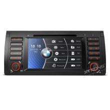 Навигация двоен дин за BMW E53 PF7153BS, WinCe, GPS, 7 инча