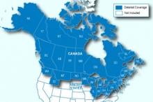 Карта за Garmin City Navigator Северна Америка NT - Само Канада