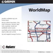 Карта за Garmin MapSource WorldMap с Trip & Waypoint Manager
