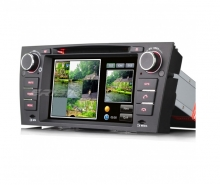 Мултимедия двоен дин ES7067B за BMW E90 E91 E92 E93, GPS, DVD, WinCE, 7 инча