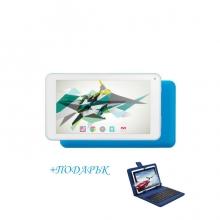 Таблет QuadColor Blue - 7 инча, 16GB + СИНЯ КЛАВИАТУРА
