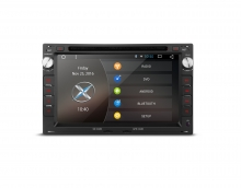 Навигация двоен дин за VW SEAT SKODA с Android 6.0 PCD76MTWA, GPS, WiFi, 7 инча