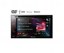 Универсална мултимедия двоен дин за кола Pioneer AVH-290BT USB/CD/DVD