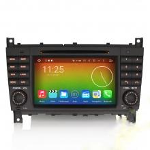 Навигация двоен дин за Mercedes W203 W209 ES6508B с Android 6.0, GPS, WiFi, 7 инча
