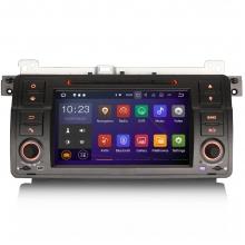 Навигация двоен дин за BMW E46 ES5062B с Android 6.0, GPS, WiFi, 7 инча