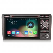 Навигация двоен дин за AUDI A3 (03 до 11) ES6027A с Android 6.0, GPS, WiFi, 7 инча