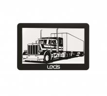 Двуядрена навигация за камиони LEOS TRUCK MATE 5 инча, 256MB, 2 програми, Сенник