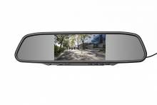 Mp5 Огледало с вграден 4.3 инча монитор USB, Micro SD - АТ BTM-4301A