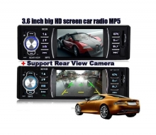 MP5 Аудио плеър за кола  AT 3615B с 3.6 инча дисплей и Bluetooth, SD, USB