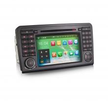 Навигация двоен дин за Mercedes W164 ES5083 с Android 6.0, GPS, WiFi, 7 инча