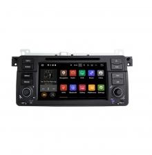 Вградена навигация двоен дин за BMW E46 с Android 7.1 BM0702 , GPS, DVD, 7 инча