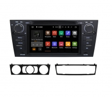 Вградена навигация двоен дин за BMW E90 с Android 7.1 BM0703 , GPS, DVD, 7 инча