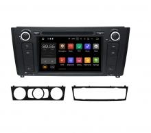 Вградена навигация двоен дин за BMW E81 Е82 Е88 с Android 7.1 BM0706 , GPS, DVD, 7 инча