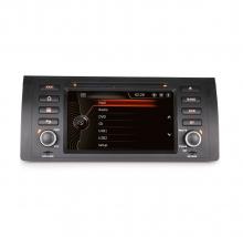 Навигация двоен дин за BMW E53 E39 BM0701W GPS, DVD, WinCE, 7 инча
