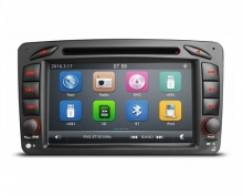 Навигация двоен дин за Mercedes W203 W209 W463 BZ0702W GPS, DVD, WinCE, 7 инча