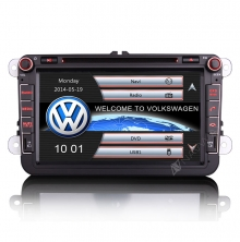 Навигация двоен дин за VW SEAT SKODA VW0803W GPS, DVD, WinCE, 8  инча