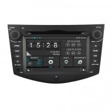 Навигация двоен дин за Toyota Rav4 2006-2012 N TY17A с WinCE 6.0 GPS, DVD, 7 инча