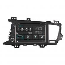 Навигация двоен дин за KIA K5/Optima N KI08A с WinCE 6.0 GPS, DVD, 8 инча