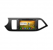 Навигация за KIA Picanto след 2011 с Android N KI10A GPS, DVD, 8 инча