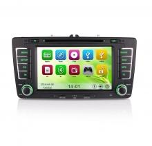 Навигация за Skoda Ocatavia II с WinCE N SK01I GPS, DVD, 7 инча