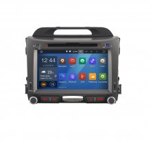 Навигация за KIA Sportage (10-14) с ANDROID 5.1 N KI19A GPS, DVD, 8 инча
