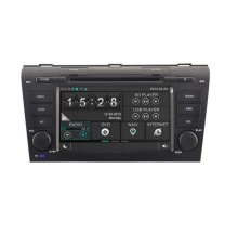 Навигация двоен дин за Mazda 3 (06-09) с WinCE 6.0 N MZ02N GPS, DVD, 7 инча