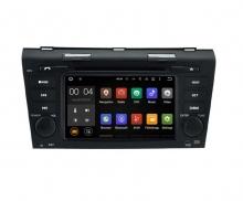 Навигация двоен дин за Mazda 3 (06-09) с ANDROID N MZ02A GPS, DVD, 7 инча