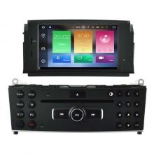 Навигация двоен дин за Mercedes C-class W204 с Android 7.1  HM H5704, GPS, DVD, 7инча