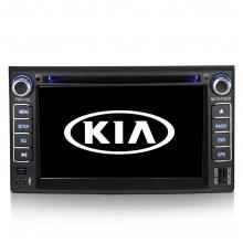 Навигация двоен дин за KIA с Windows KA6211W GPS, DVD, WinCE, 7 инча