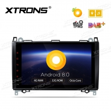 Навигация за Mercedes W245 W169 W639 Sprinter с Android 8.0, PE98M245PL, WiFi, GPS, 9 инча