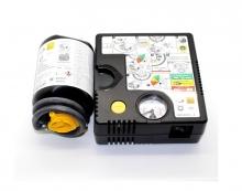 Оригинален компресор за помпене на гуми + пяна лепило RENAULT/DACIA