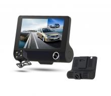 Видеорегистратор за кола АТ D123 4.3 инча монитор с 3 камери