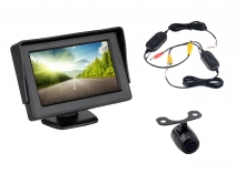 Комплект 4.3 инча монитор + БЕЗЖИЧНА камера за задно виждане AT BW-430-940