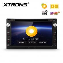 Навигация двоен дин за VW Passat, Golf 4 с Android 8.0, PB78MTWP, WiFi, GPS, 7 инча
