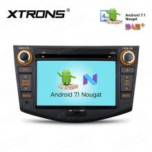 Навигация двоен дин за Toyota RAV4 (06-12) с Android 7.1 PCD77RVT,  WiFi, GPS, 7 инча