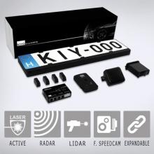 Комплект GPS радар детектор KIYO GPS U1 + активен лазерен детектор KIYO D Ultimate