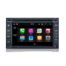 Навигация двоен дин за Nissan Q001HF с Android 7.1, GPS, DVD, 7 инча