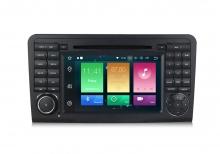 Навигация двоен дин за Mercedes Benz W164 с ANDROID 8.0 MKD-9558,GPS,WiFi, 4G, 7 инча